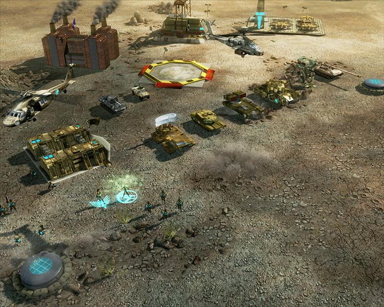 Mix Mods for C&C 3: Tiberium Wars