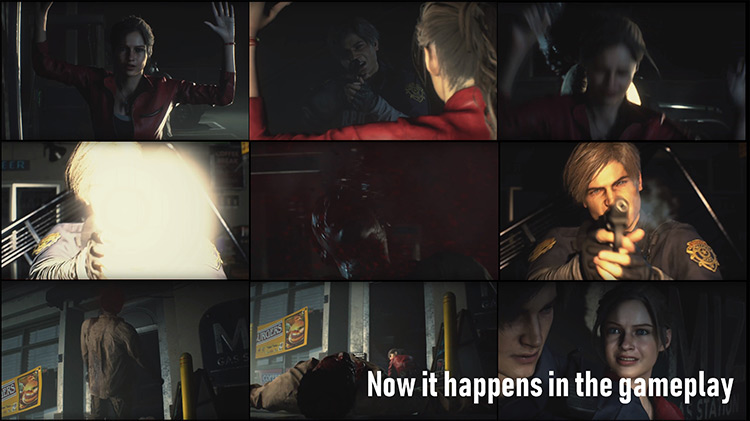 Headshot-only & Reduced Items Resident Evil 2 remake mod
