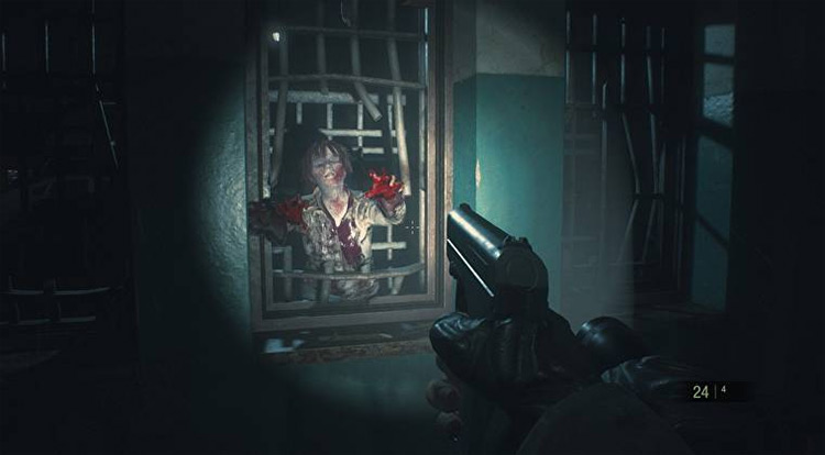 First-Person Camera remake mod for Resident Evil 2