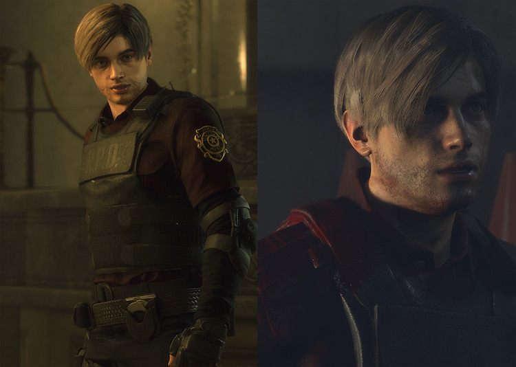 FOOX Leon Customization Pack Resident Evil 2 remake mod