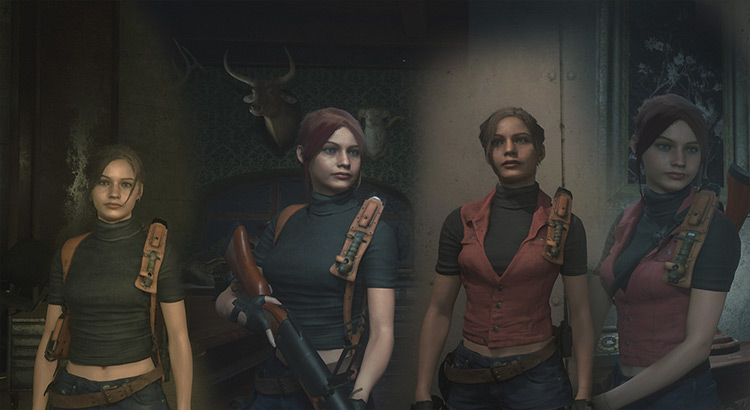 Claire – Darkside Chronicles Resident Evil 2 remake mod