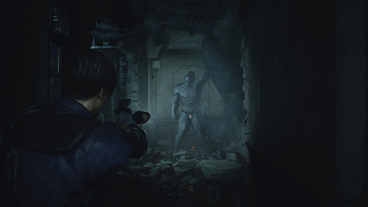Beachboy X Resident Evil 2 remake mod screenshot