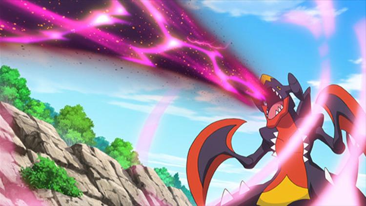 Garchomp from Pokémon anime