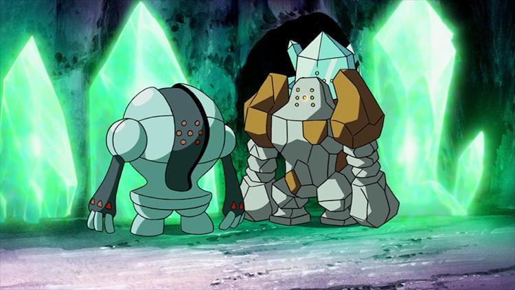 The Regi Trio Pokémon screenshot