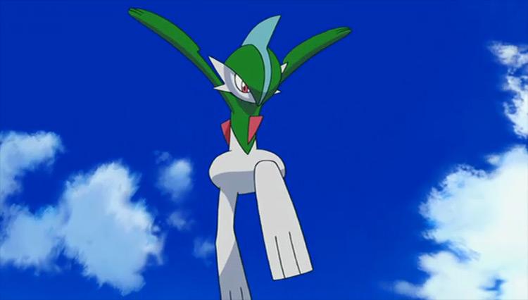 Gallade Pokémon anime