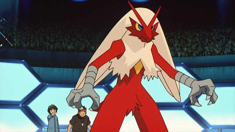 Blaziken Pokémon anime screenshot