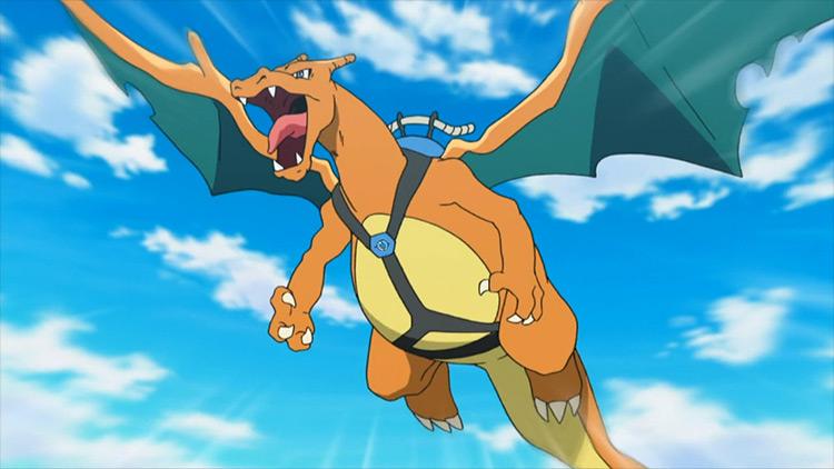 Charizard from Pokémon anime