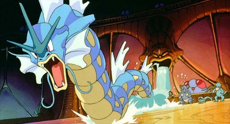 Gyarados Pokémon anime screenshot