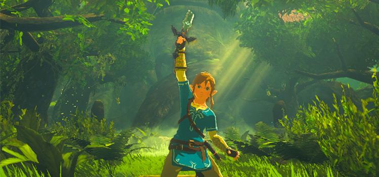 Sword that Sealed Darkness - Custom Mod for BotW