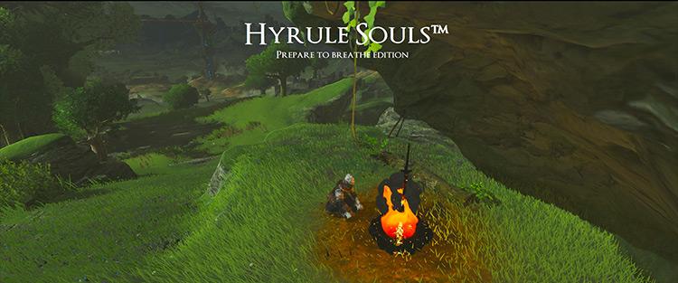 Hyrule Souls: Prepare to Breathe Edition Legend of Zelda mod