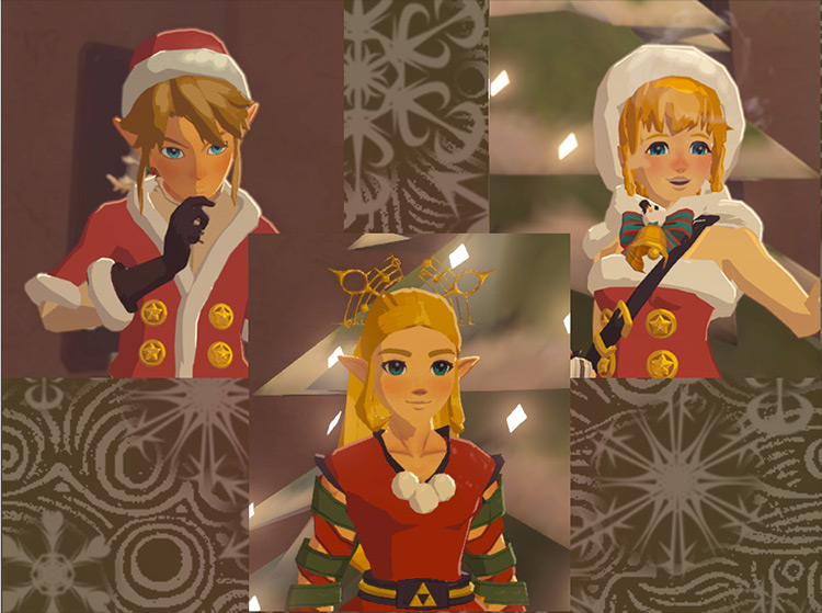 Winter Wonderland mod for Legend of Zelda: Breath of the Wild