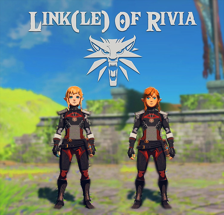 Linkle of Rivia - Breath of the Wild mod