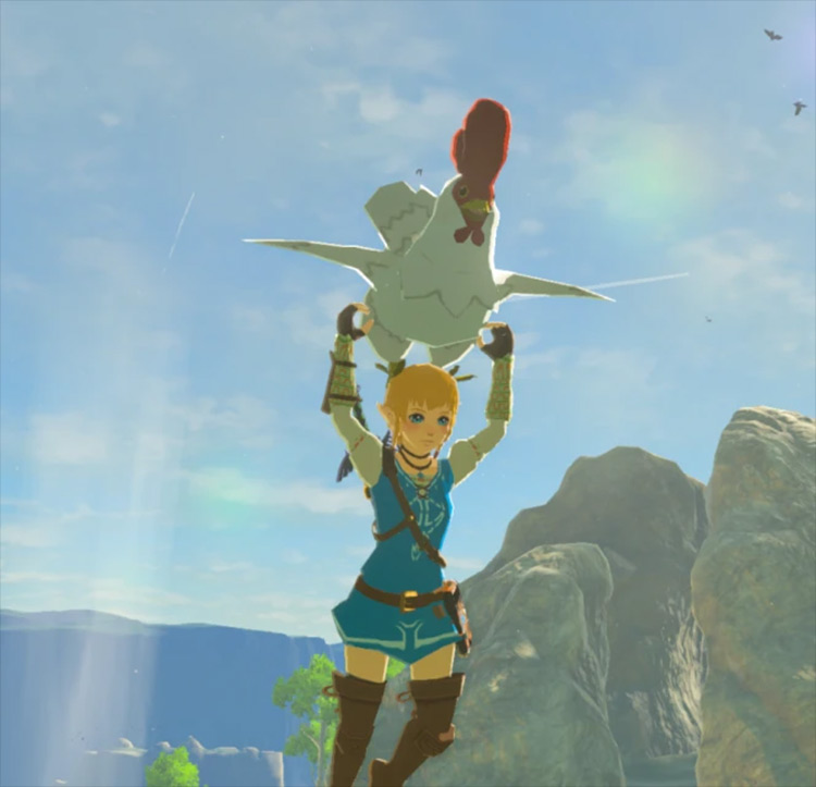 Play as Linkle - Breath of the Wild mod