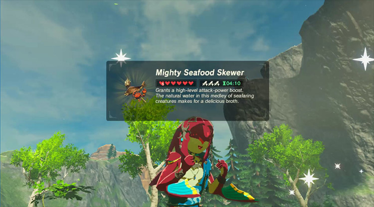 Playable Mipha mod for Legend of Zelda: Breath of the Wild