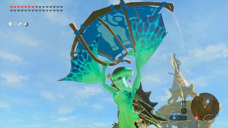 Playable Princess Ruto - Breath of the Wild mod
