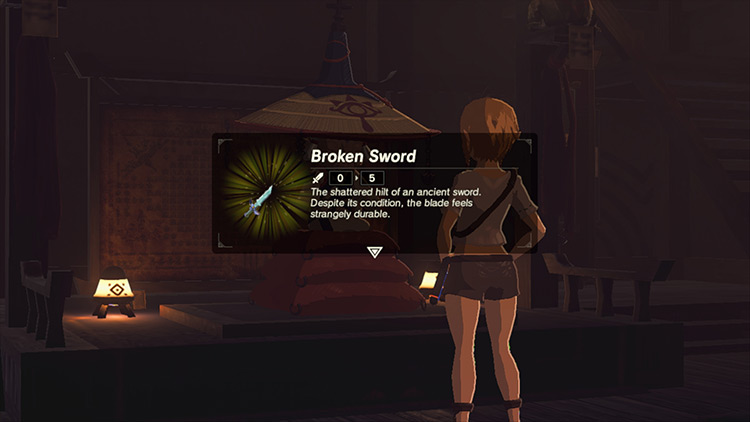 The Sword That Sealed The Darkness mod for Breath of the Wild