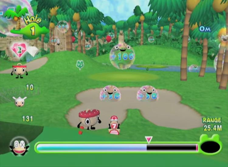 Ribbit King game screenshot