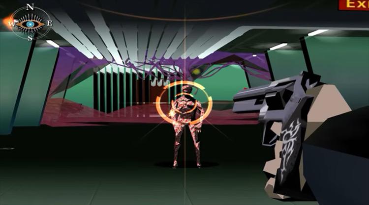 Killer7 game screenshot