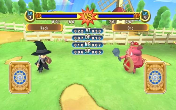 Dokapon Kingdom game screenshot