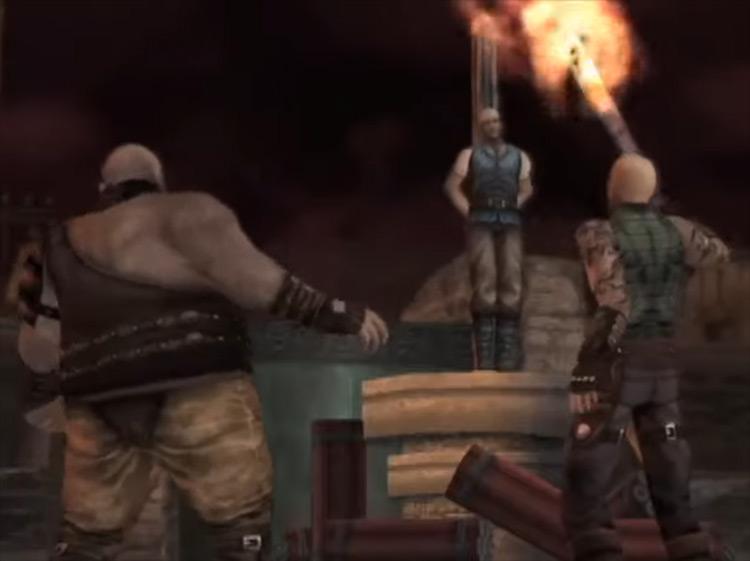 God Hand PS2 game screenshot