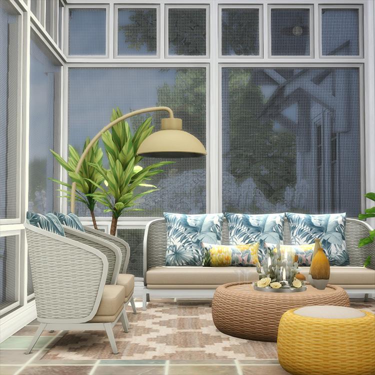 Screened-In Series Sims 4 CC