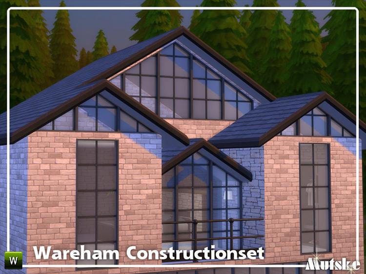 Wareham Construction Set Part 5 Sims 4 CC
