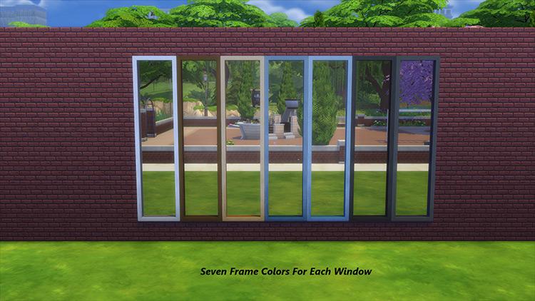 Squeaky Clean Windows Sims 4 CC screenshot