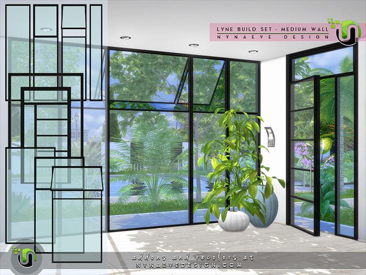 Lyne Build Set II Sims 4 CC