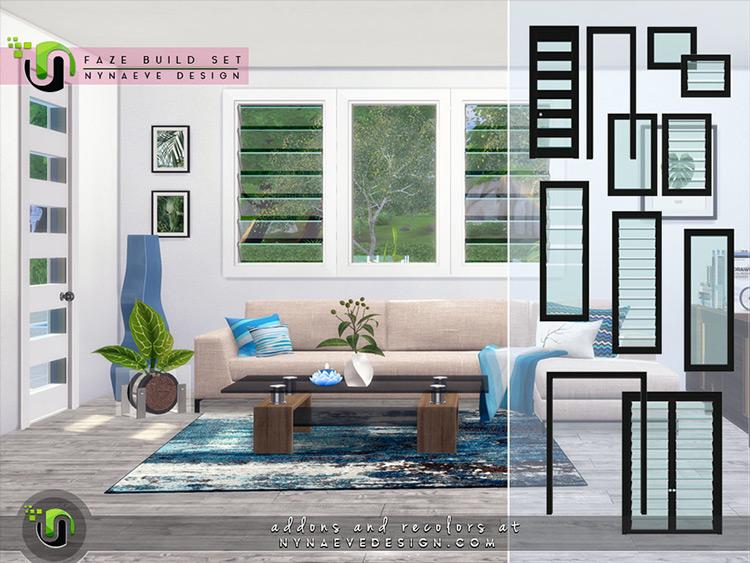 Faze Build Set Sims 4 CC