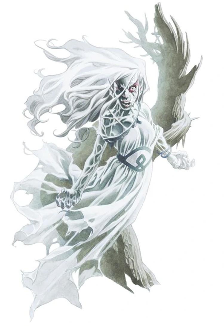Banshee creature art in D&D 5e