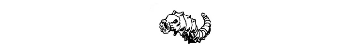 Rot Grub drawing from D&D 5e