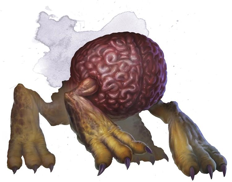 Intellect Devourer creature artwork in D&D 5e
