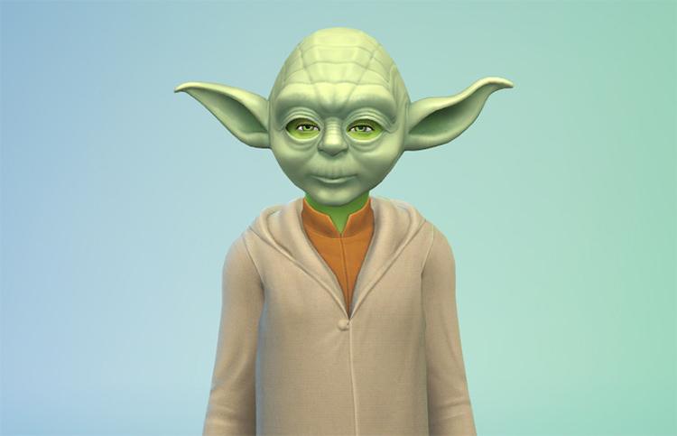 Star Wars - Yoda Character Sims 4 Mod