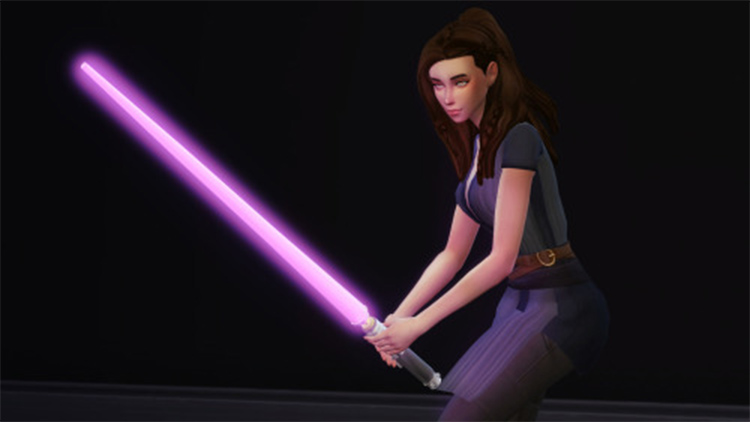 Jedi Knight Pose Pack - The Sims 4