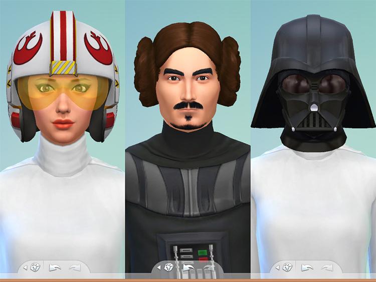 TS4 Mod - Star Wars Hats