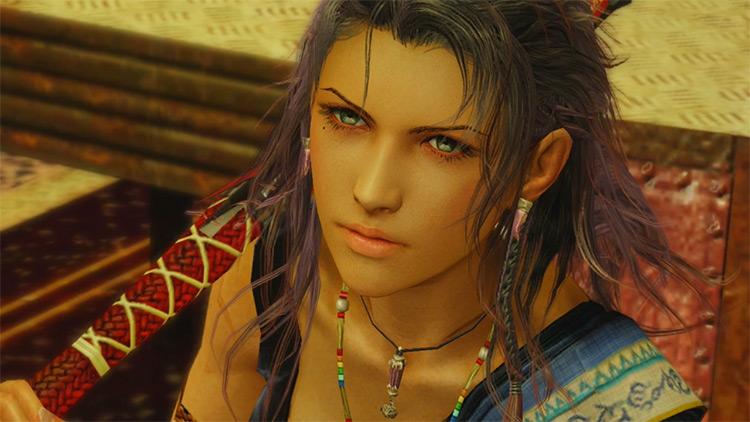 Oerba Yung Fang FF13 character screenshot
