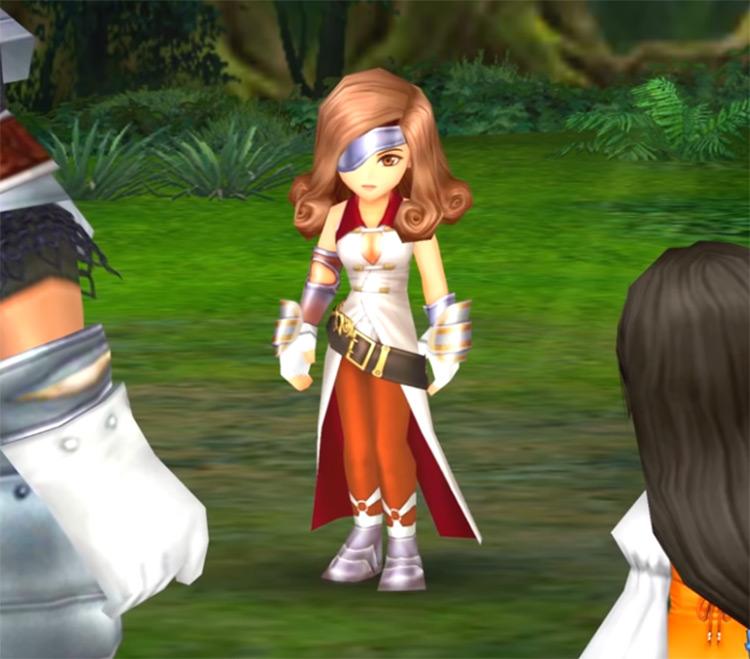 Beatrix from FF8 screenshot