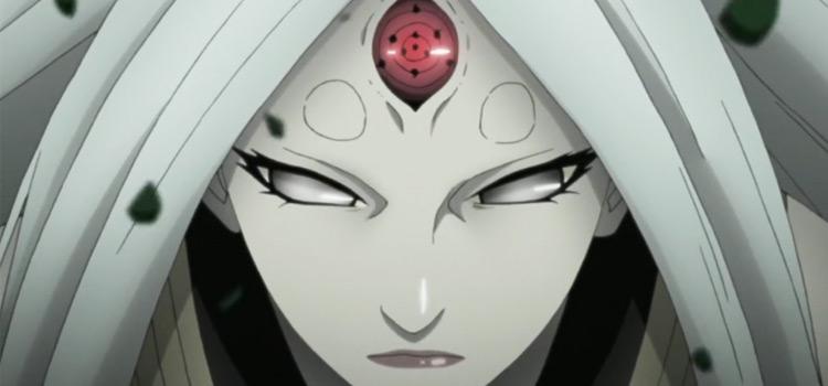 Kaguya Otsutsuki from Naruto