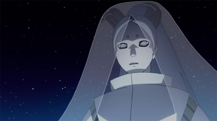 Momoshiki Otsutsuki from Naruto anime