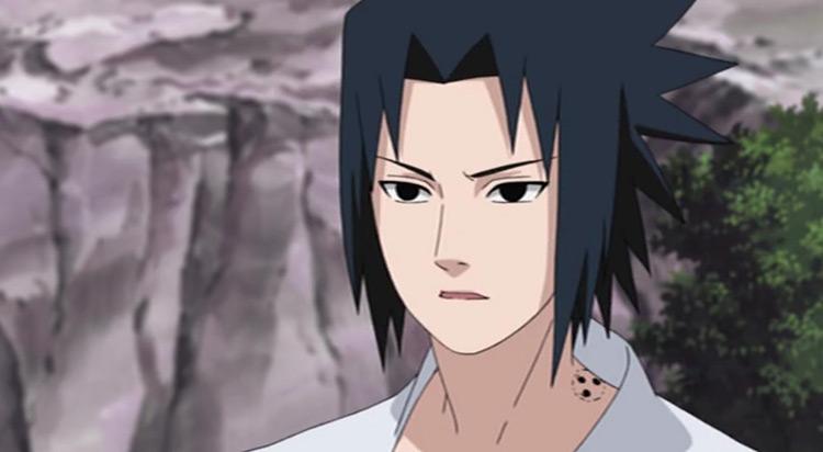 Sasuke Uchiha del anime Naruto
