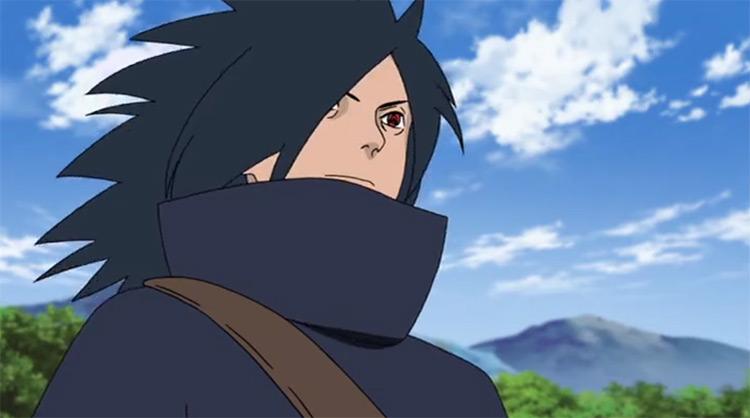 Madara Uchiha del anime Naruto