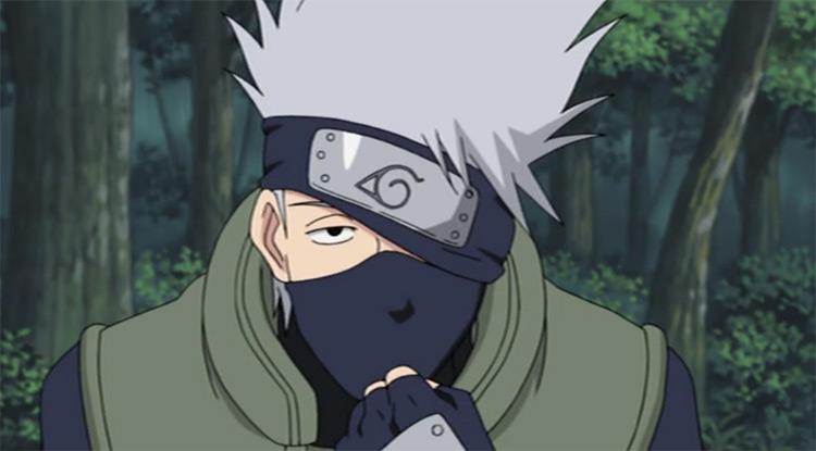 Kakashi Hatake del anime Naruto