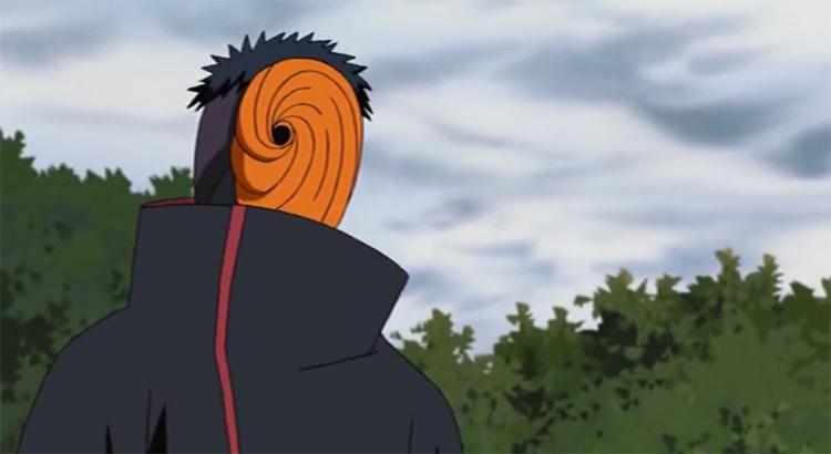 Obito Uchiha Naruto captura de pantalla del anime