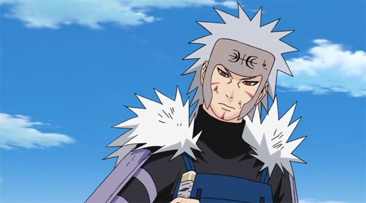 Tobirama Senju del anime Naruto
