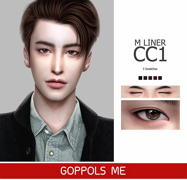 M Liner CC1 by Goppols Me Sims 4 CC