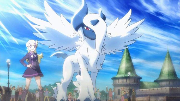 Absol Pokémon anime screenshot