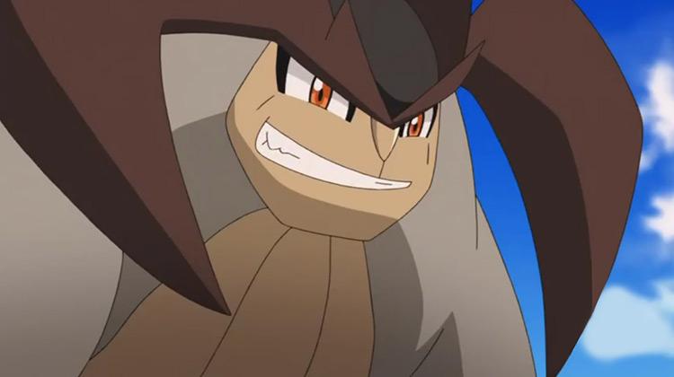 Terrakion from Pokémon anime