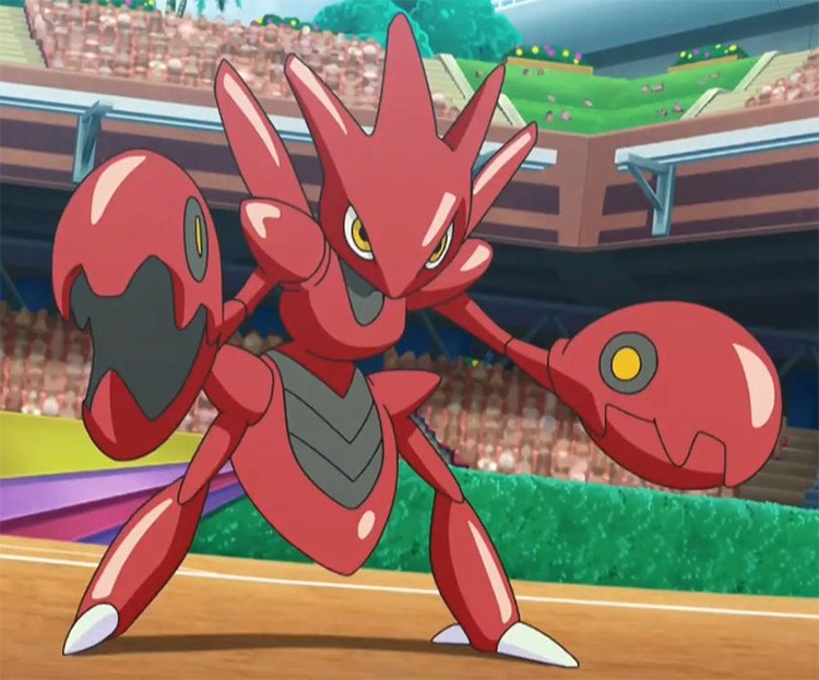 Scizor Pokémon anime screenshot