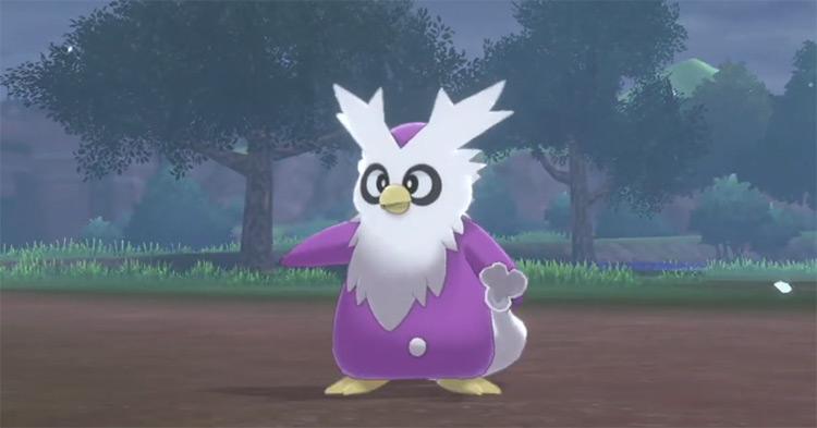 Purple Shiny Delibird screenshot