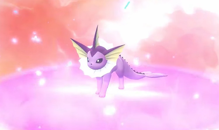 Purple Shiny Vaporeon